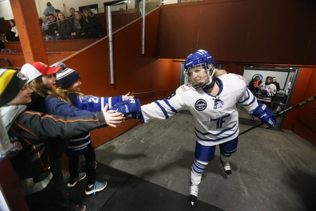 Grindstone Award Foundation Partners with the CWHL Toronto Furies