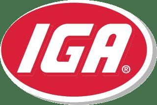 IGA Grocery Store Logo
