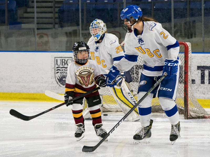 UBC World Girls Hockey