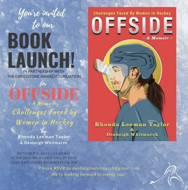 Women's Hockey Book Launch