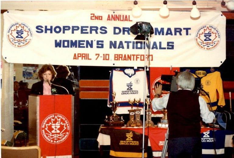 Canadian Women's Hockey National Championship 1983